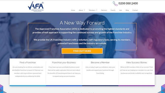 the new afa website is live