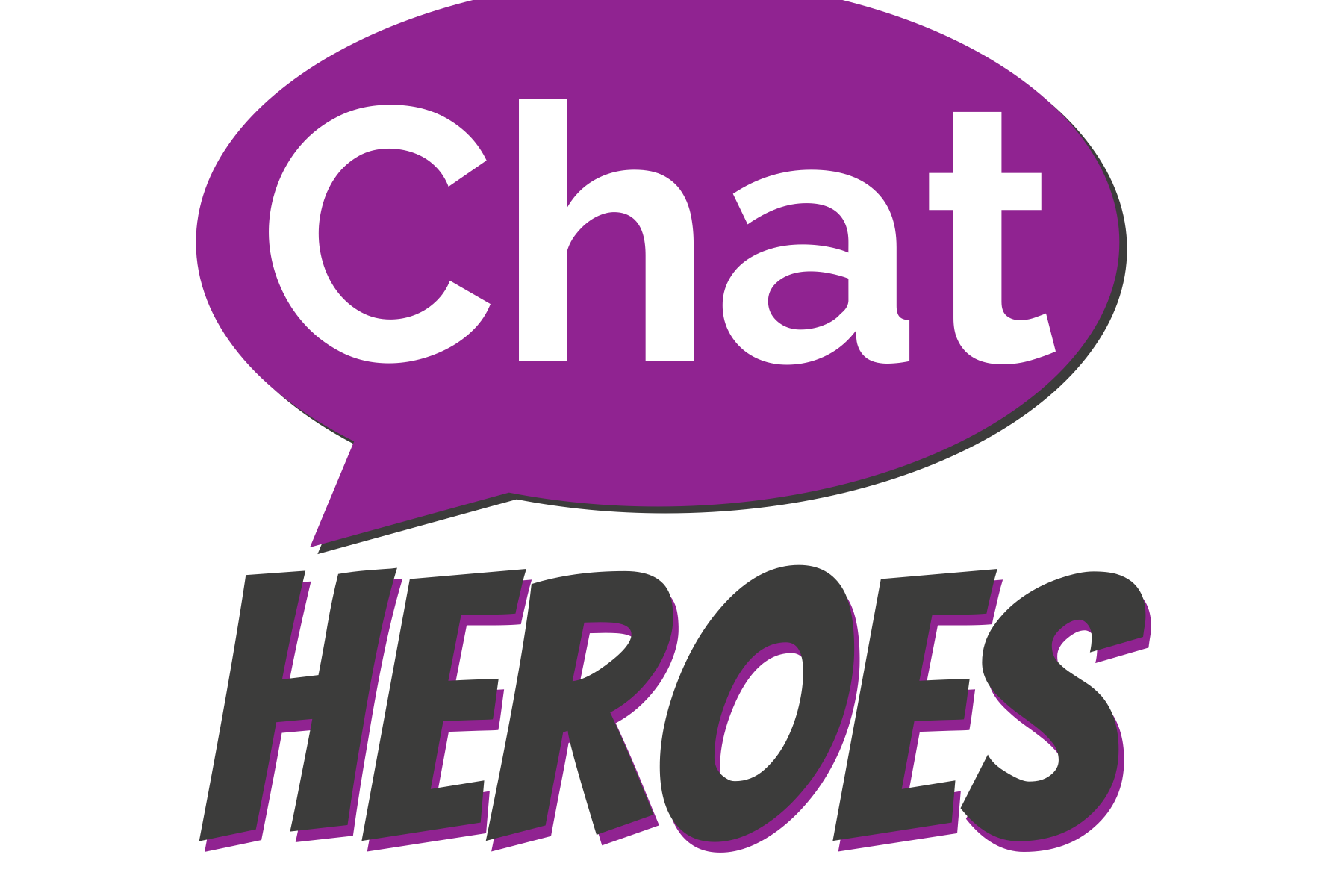 Chat Heroes Logo very large