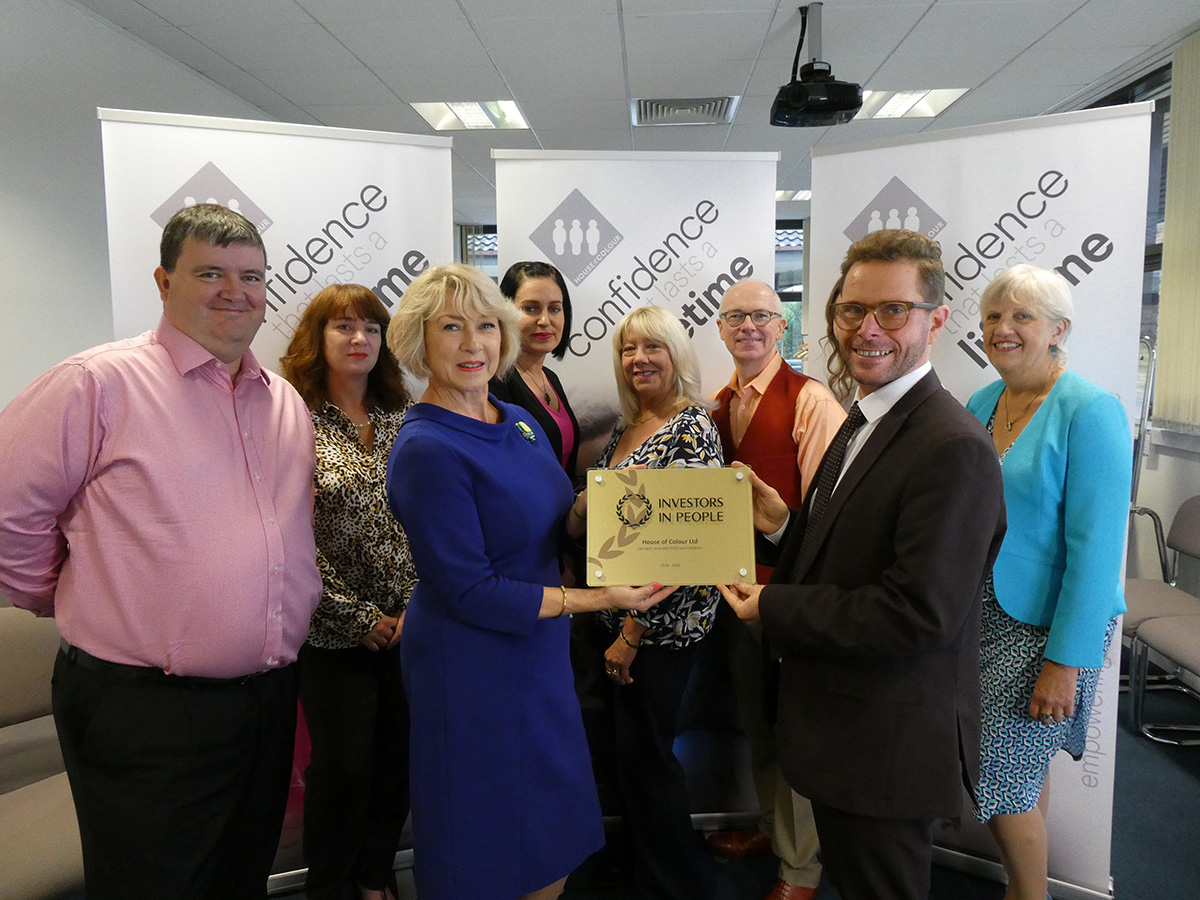House of Colour receives Gold reaccreditation with Investors in People 1